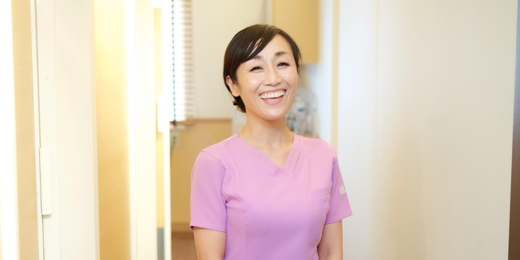 山川 綾子 | 歯科衛生士